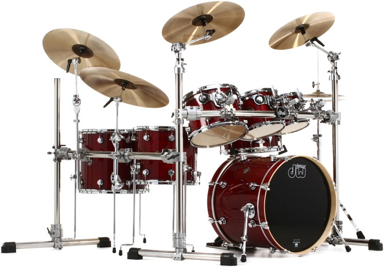 DW Performance Series 6-piece Shell Pack With Snare - 20