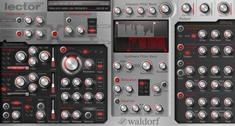 Waldorf Lector Vocoder Plug-in image 1