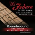 Fodera 45125 Nickel Roundwound 5-string Bass Strings - 0.045-0.125 Medium