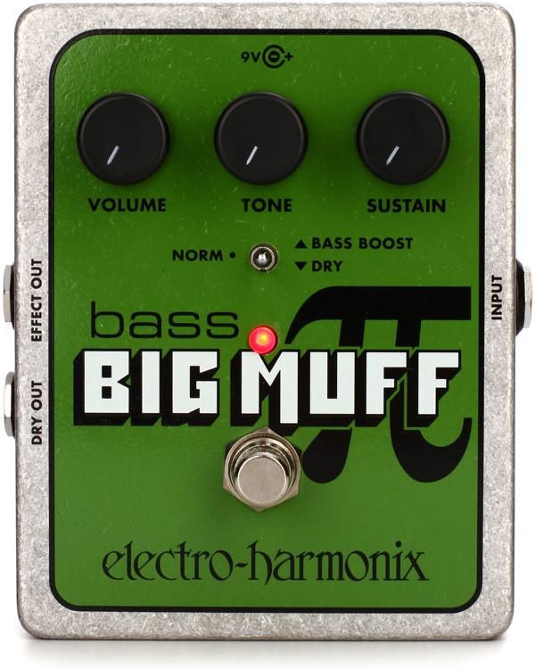Electro-Harmonix Bass Big Muff Pi Bass Fuzz Pedal image 1