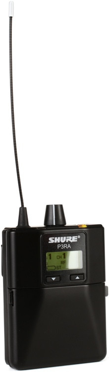Shure P3RA Wireless Bodypack Receiver - H20 Band image 1