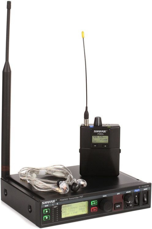 Shure P9TRA425CL - w/SE425CL G6 Band, 470-506MHz image 1