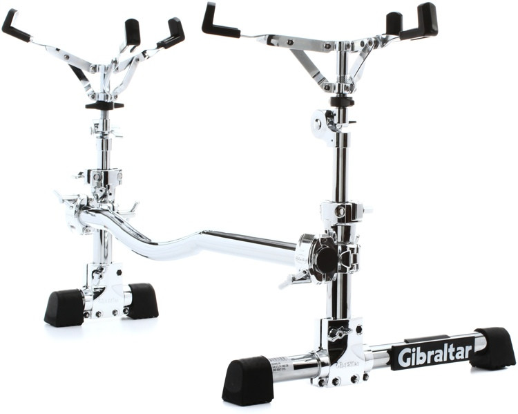 Gibraltar Stealth Vertical Mounting System - Dual Snare Baskets image 1