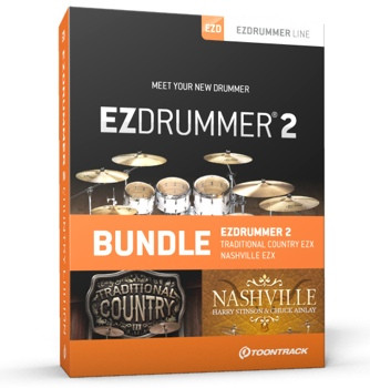 Toontrack EZdrummer 2 Country Edition image 1