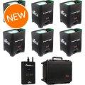 Chauvet DJ Freedom Par Quad-4 RGBA Wireless Par 6-Pack