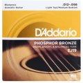 D'Addario EJ19 Phosphor Bronze Bluegrass Light Top/Medium Bottom Acoustic Strings