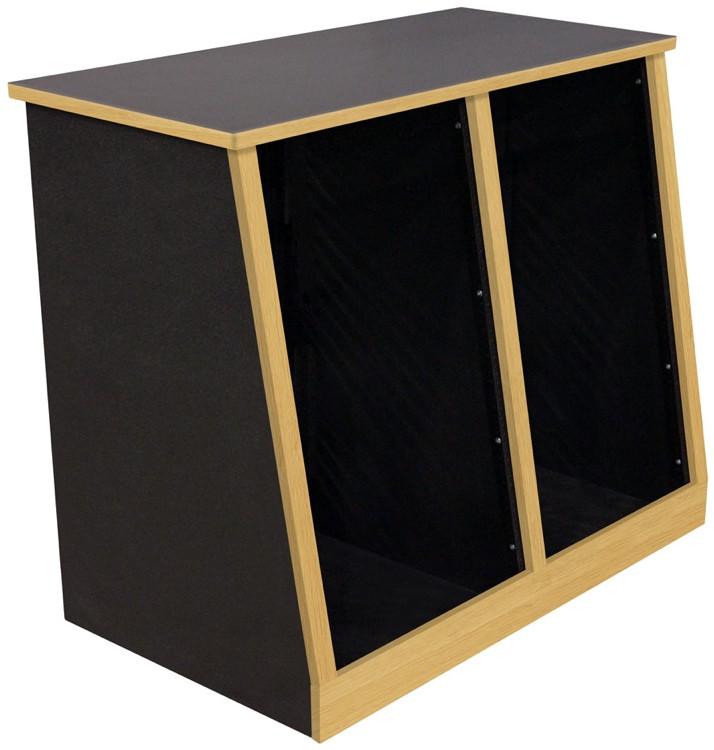 Sound Construction R18-2 SL OK Rack - 18 Space, 2-Bay image 1
