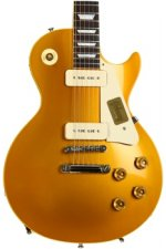Gibson Custom True Historic 1956 Les Paul Goldtop - Vintage Antique Gold