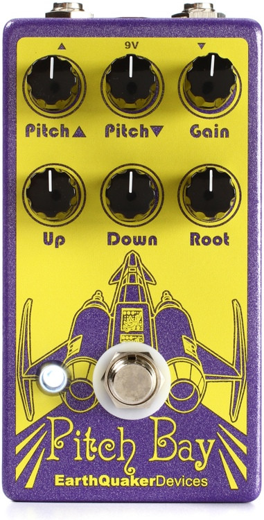 EarthQuaker Devices Pitch Bay Polyphonic Harmonizer and Distortion Generator Pedal image 1