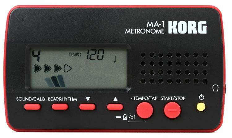 Korg MA-1 Compact Metronome - Red image 1