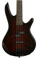 Ibanez GSR200SMCNB GIO - Spalted Maple Top Charcoal Brown Burst