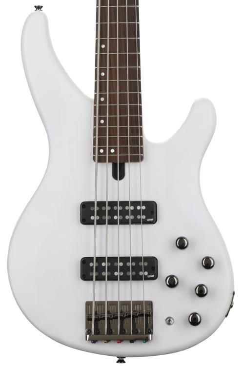 Yamaha TRBX505 Trans White image 1