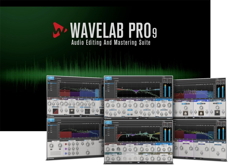 Steinberg WaveLab Pro 9 - Upgrade from WaveLab Pro 8.5 image 1