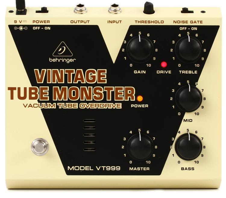 Behringer VT999 Vintage Tube Monster Overdrive Pedal image 1