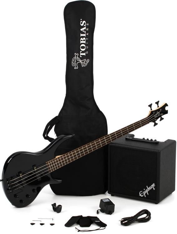Epiphone Toby Bass Performance Pack - Ebony image 1