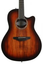 Ovation Celebrity Plus Super Shallow - Koa Burst