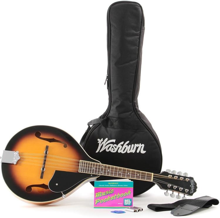 Washburn M1 Mandolin Pack - Sunburst image 1