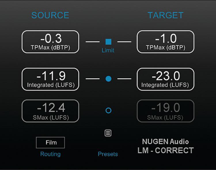 NUGEN Audio LM-Correct image 1