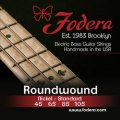 Fodera 45105 Nickel Roundwound Bass Strings - 0.045-0.105 Medium