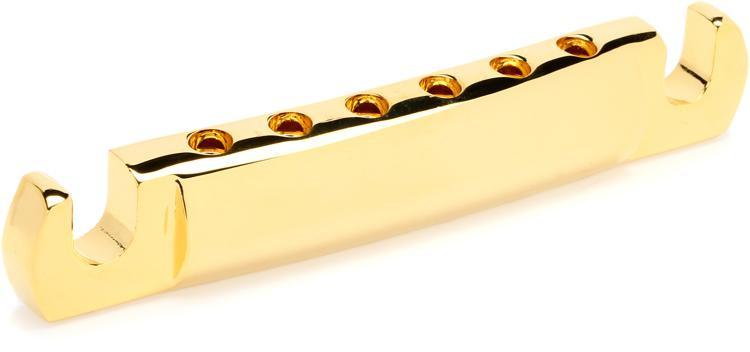 Gibson Accessories Lightweight Aluminum Tailpiece - Gold Finish image 1