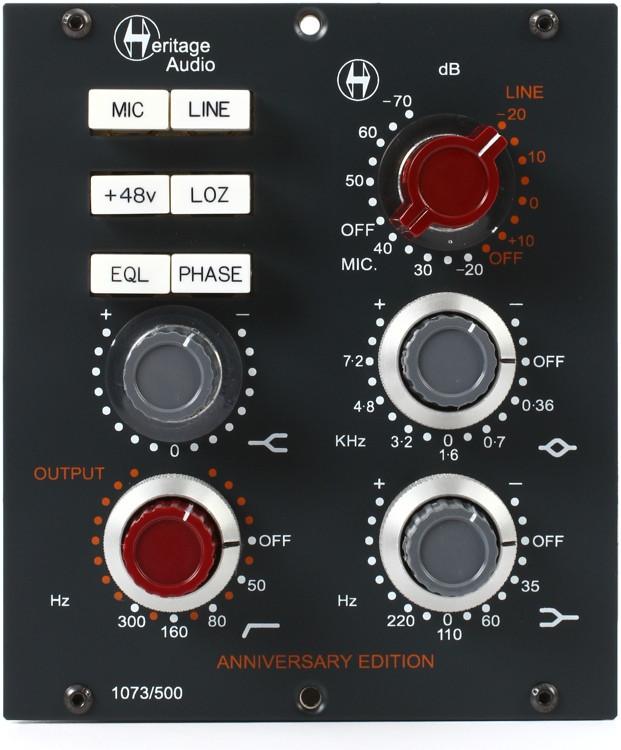 Heritage Audio 1073/500 Microphone Preamp & EQ image 1