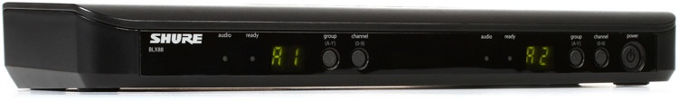 Shure BLX88 Dual Channel Receiver - H9 Band image 1