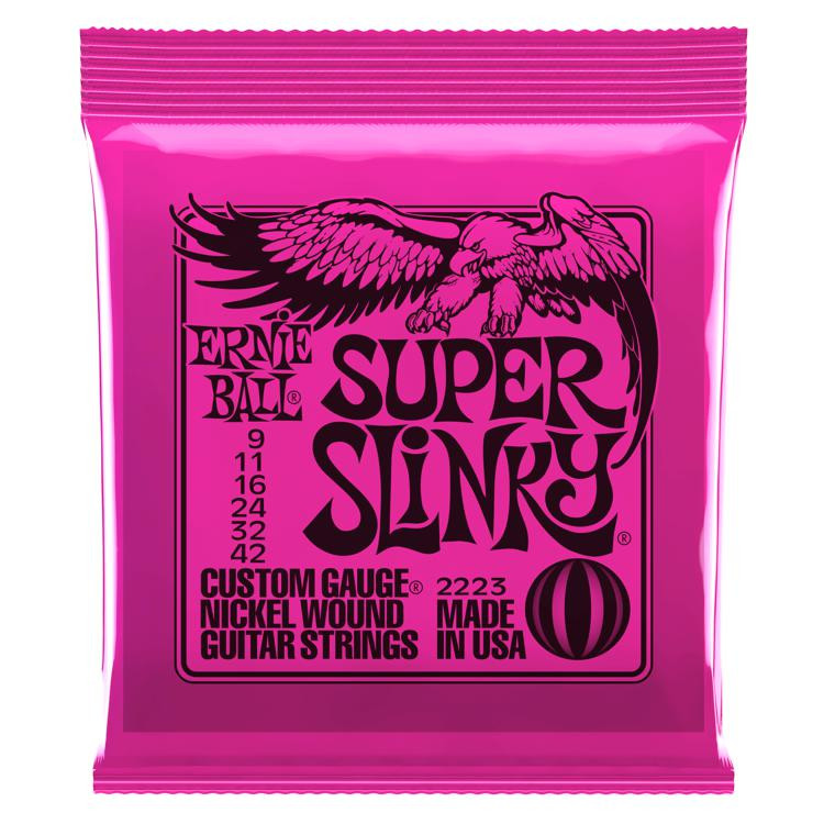 Ernie Ball 2223 Super Slinky Nickel Wound Electric Strings image 1