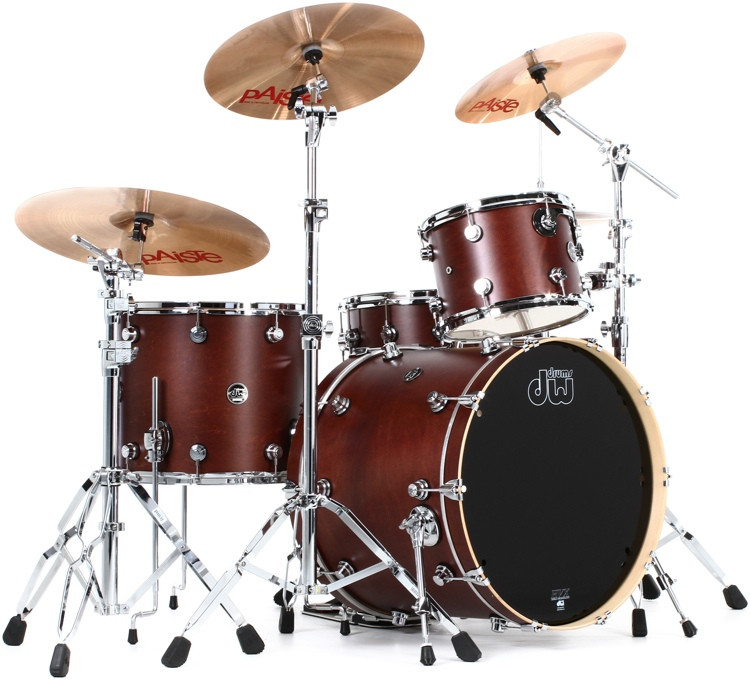 DW Performance Series 4 Piece Shell Pack with Snare - 22