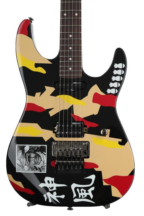 ESP LTD George Lynch Signature GL-200K - Kamikaze Graphic image 1