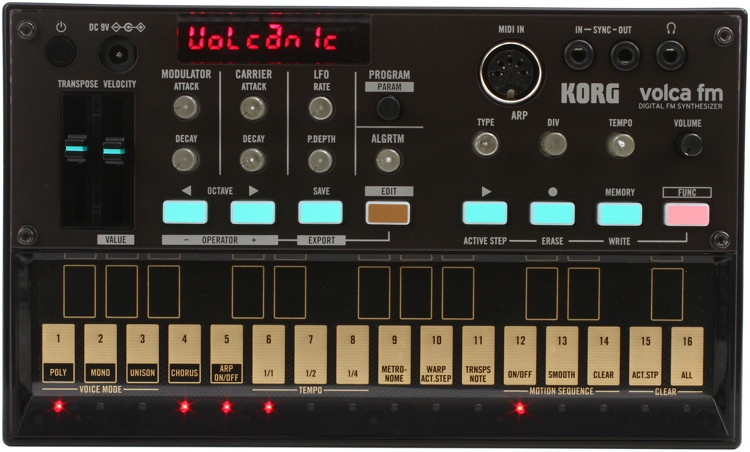 Korg Volca FM Synthesizer with Sequencer image 1