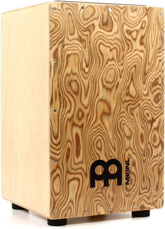 Meinl Percussion Traditional String Cajon - Makah-Burl Frontplate image 1
