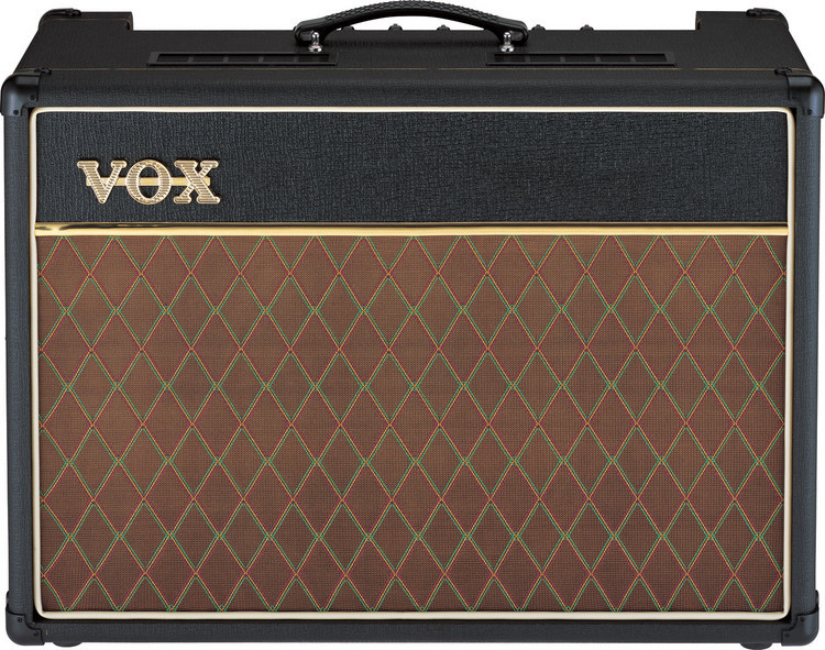 vox ac15 custom classic with blue speaker sweetwater. Black Bedroom Furniture Sets. Home Design Ideas