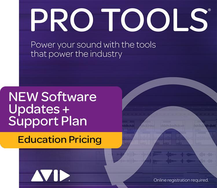 Avid Annual Upgrade Plan for Pro Tools - Students/Teachers, Reinstatement image 1