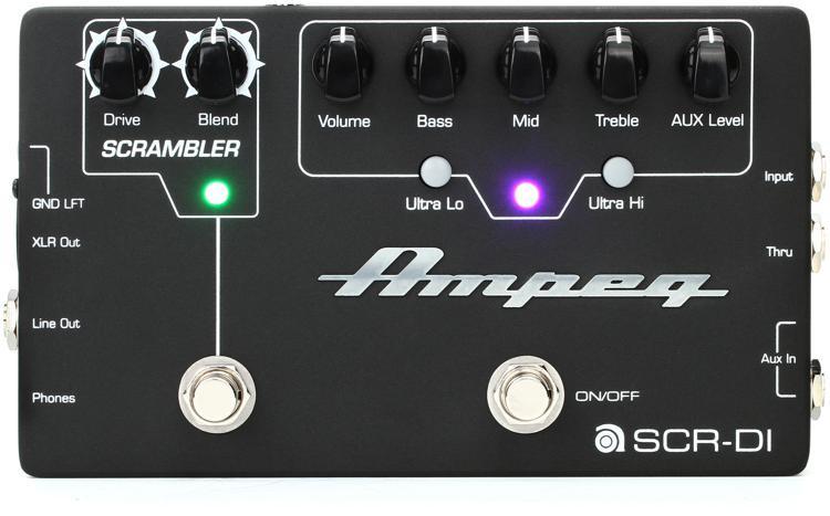 Ampeg SCR-DI - Bass Preamp with Scrambler Overdrive image 1
