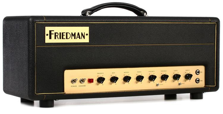 Friedman Small Box 50-watt 2-channel Tube Head image 1