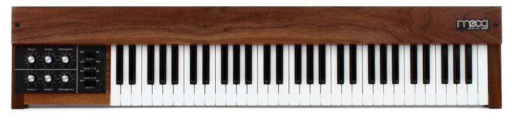 Moog 953 Duophonic 61 Note Keyboard - Walnut Cabinet image 1