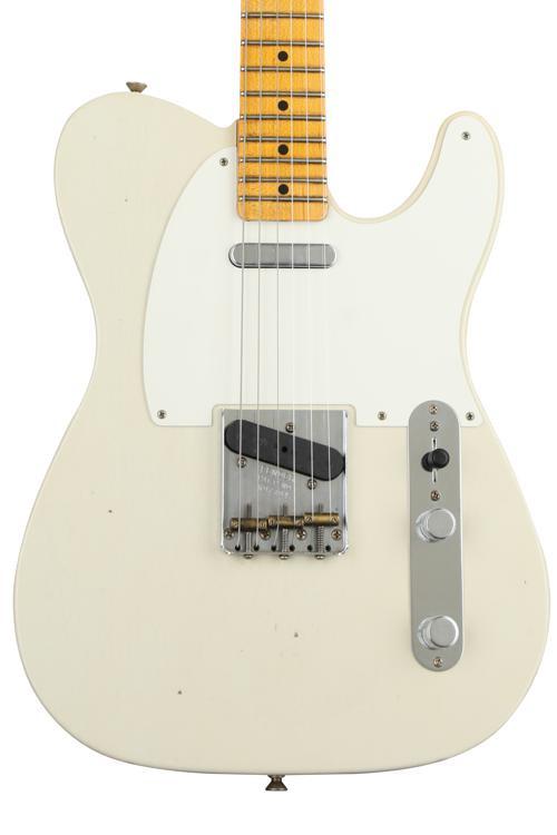 Fender Custom Shop \'50s Telecaster Journeyman Relic - Faded Desert Tan with Maple Fingerboard image 1