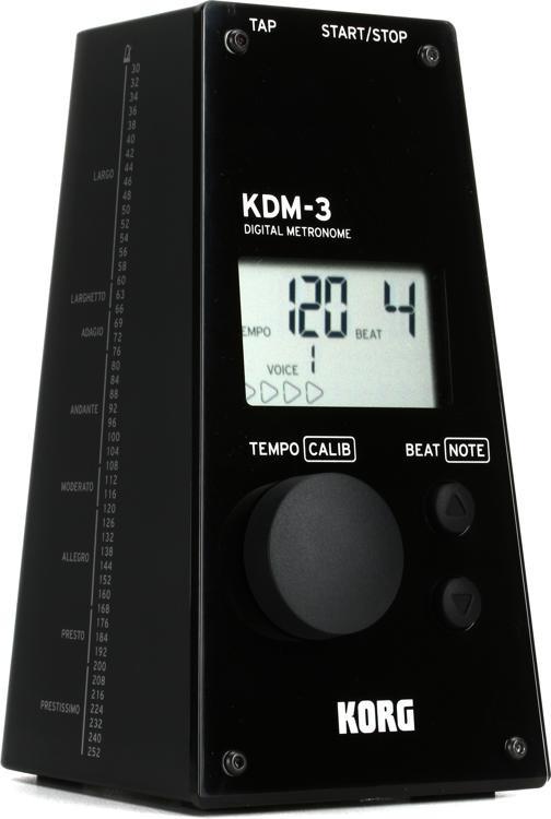 KDM-3 Digital Metronome - Black