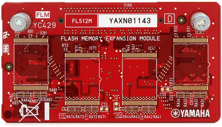 Yamaha FL512M 512MB Flash Board image 1