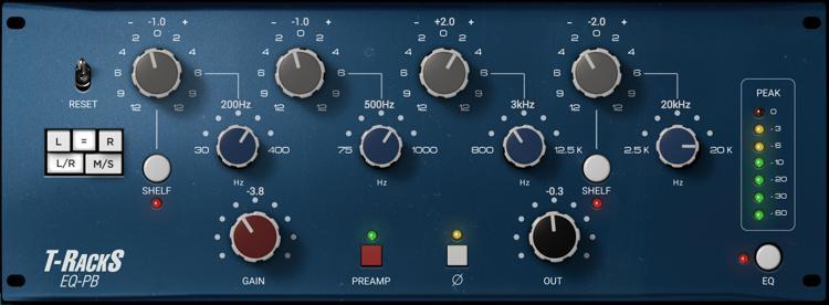 IK Multimedia T-RackS EQ PB Plug-in image 1