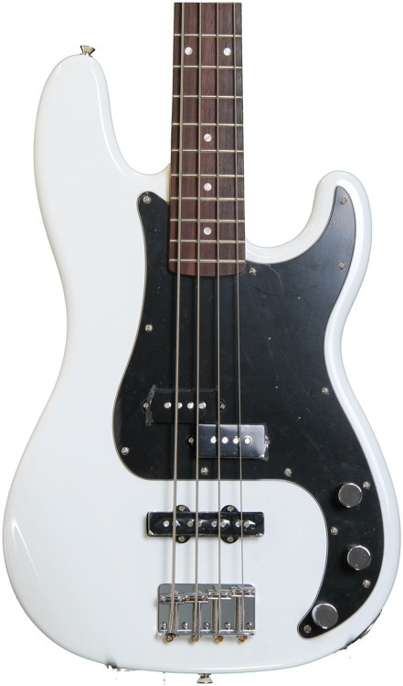 Squier Affinity Series Precision Bass PJ - Olympic White image 1