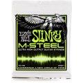 Ernie Ball 2921 M-Steel Regular Slinky Electric Strings - .010-.046