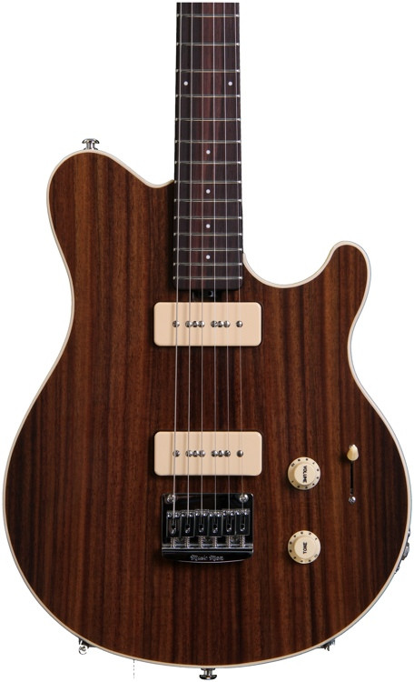 ernie ball music man axis super sport mm90 std rosewood top all rosewood neck ltd run sweetwater. Black Bedroom Furniture Sets. Home Design Ideas