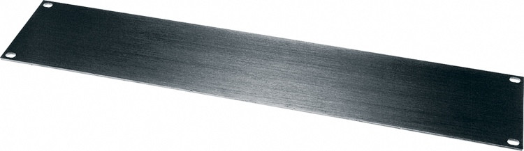 Middle Atlantic Products HBL3 Flat Aluminum Rack Panel - 3U image 1