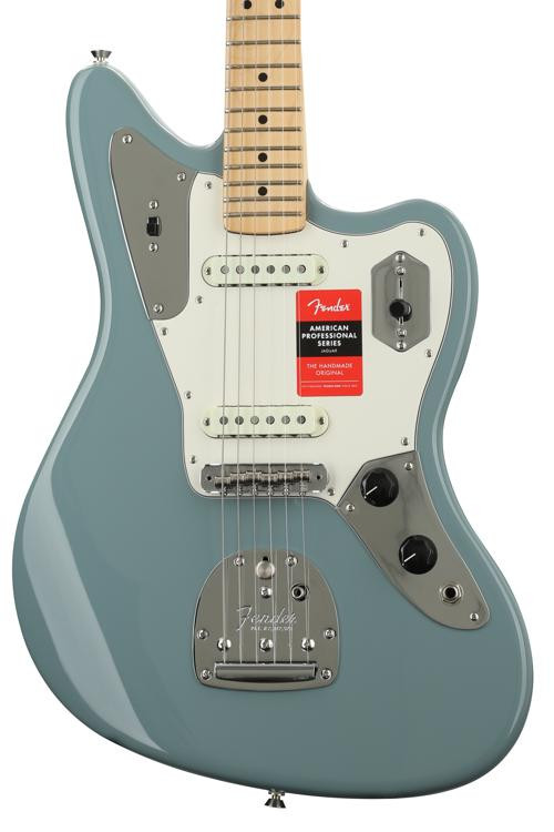 Fender American Professional Jaguar - Sonic Gray with Maple Fingerboard image 1