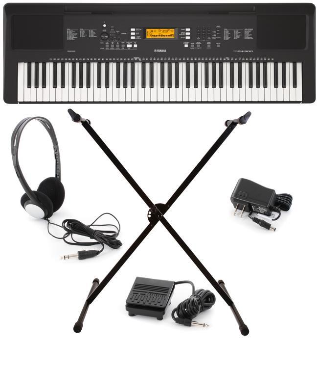 Yamaha psrew300kit 76 key portable arranger sweetwater for Yamaha psr ew300 keyboard