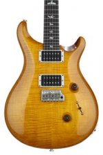 PRS Custom 24 Figured Top - McCarty Sunburst with Pattern Regular Neck