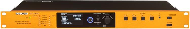 TASCAM CG-2000 Video Sync/Master Clock Generator image 1