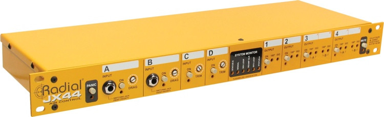 Radial JX44 4-channel Active Re-Amp / Distro Device image 1