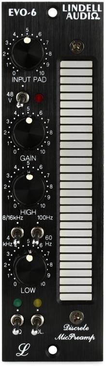 Lindell Audio EVO-6 Microphone Preamp & EQ image 1